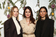 Agatha Luczo, Anne Vyalitsyna and Melissa Wood-Tepperberg attend the Bambini Furtuna Launch Brunch at The Little Owl Townhouse on January 14, 2020 in New York City.