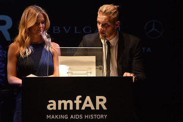 Bar Refaeli Mercedes-Benz At amfAR Milano 2014 - Milan Fashion Week Womenswear Spring/Summer 2015