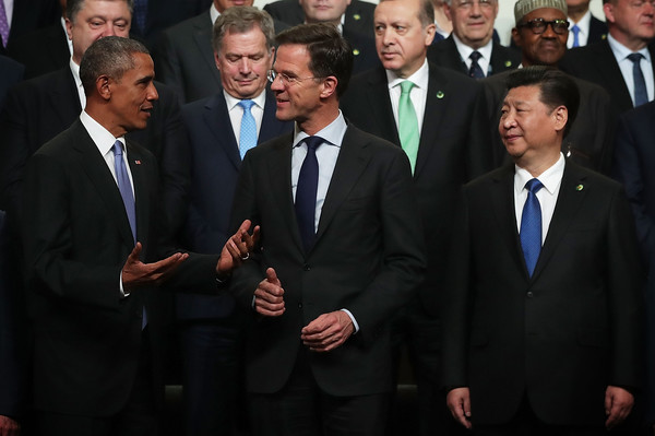 Leaders Pose for Group Photo at Nuclear Security Summit