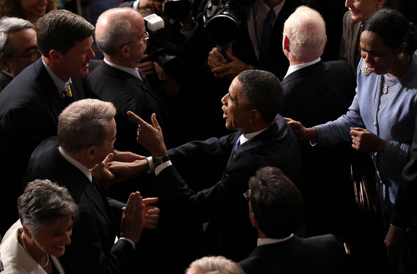 Obama Addresses Joint Session Of Congress On Jobs And The Economy []