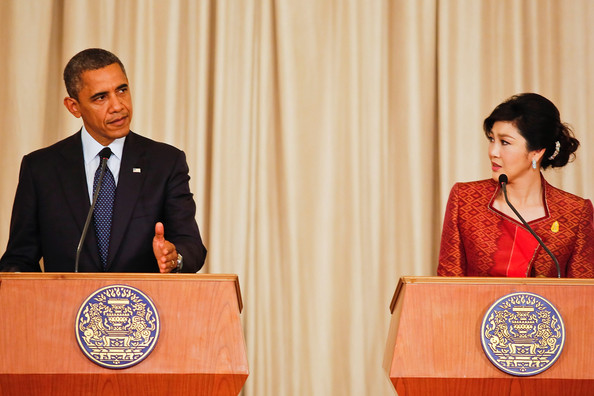 obama flirting with thai prime minister video Us president obama appeared to flirt with thailand's attractive prime minister on his first stop of his three-day tour of southeast asia, said the.