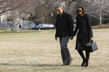Barack Obama The Obamas Return to the White House