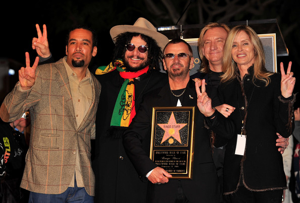 Ringo Starr Honored On The Hollywood Walk Of Fame