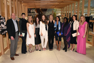 Barbara Burchfield H&M, Olivia Wilde, and Conscious Commerce Celebrate the Opening of the Conscious Pop-Up Shop