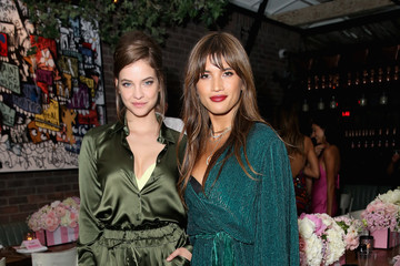 Barbara Palvin Rocky Barnes Angel Barbara Palvin And Rocky Barnes Celebrate The New Incredible By Victoria's Secret Collection In Los Angeles