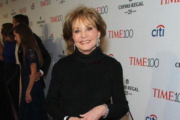 Barbara Walters TIME 100 Gala, TIME's 100 Most Influential People In The World - Lobby Arrivals