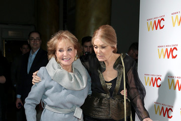 Barbara Walters Arrivals at the Women's Media Awards