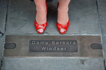 Barbara Windsor Dame Barbara Windsor to Inaugurate the Hackney Empire Walk of Fame