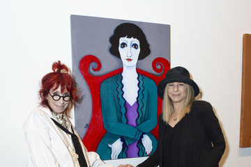 """Barbra Streisand Maxine Smith Paintings 2019 Exhibition """"Wives And Lovers"""" Opening Night Reception"""