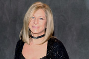 Singer and actress Barbra Streisand attends a party following a rare and intimate performance in support of her new jazz-flavored album