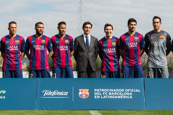 Hilo del FC Barcelona Barcelona+Announce+Partnership+Agreement+JADSpT_fOz3l