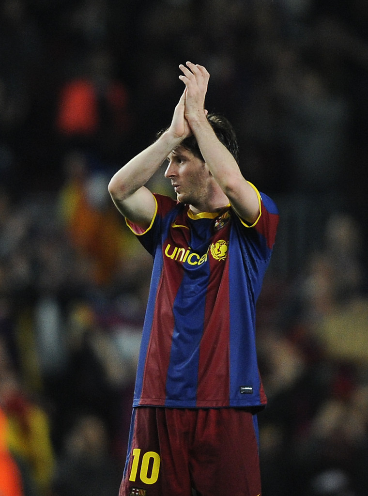 Barcelona v real madrid uefa champions league semi final pictures