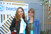 Leslie Mann (L) and guest attend the Barclaycard Exclusive Area at Barclaycard Presents British Summer Time Hyde Park at Hyde Park on July 13, 2019 in London, England.
