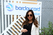 Myleene Klass attends the Barclaycard Exclusive Area at Barclaycard Presents British Summer Time Hyde Park at Hyde Park on July 07, 2019 in London, England.