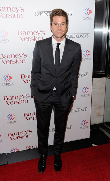 "Actor Scott Speedman attends the premiere of ""Barney's Version"" at Paris Theatre on January 10, 2011 in New York City."