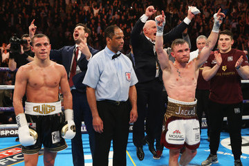 Barry McGuigan Carl Frampton Carl Frampton v Scott Quigg - World Super-Bantamweight Title Fight