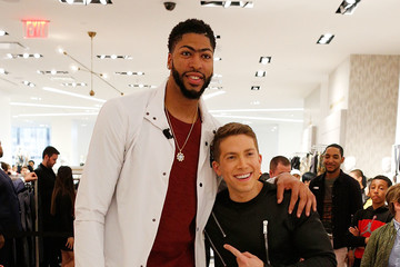 Baruch Shemtov NBA All-Star Anthony Davis Celebrates His Latest Saks Fifth Avenue x Anthony Davis Collection at Saks Downtown Men's