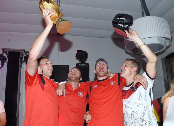 Team Germany Celebrates World Cup Win