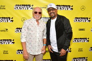 """Jimmy Buffett and Martin Lawrence attend the """"The Beach Bum"""" Premiere 2019 SXSW Conference and Festivals at Paramount Theatre on March 09, 2019 in Austin, Texas."""