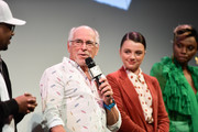 """Jimmy Buffett and Stefania LaVie Owen attend the """"The Beach Bum"""" Premiere 2019 SXSW Conference and Festivals at Paramount Theatre on March 09, 2019 in Austin, Texas."""