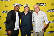 """Martin Lawrence, Harmony Korine, and Jimmy Buffett attend the """"The Beach Bum"""" Premiere 2019 SXSW Conference and Festivals at Paramount Theatre on March 09, 2019 in Austin, Texas."""