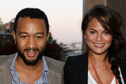 Recording artist John Legend and Christine Teigen attend The Beacon Condominiums Celebrates the Spring Issue Of Athletes Quarterly at The Beacon Condominiums on May 20, 2010 in Jersey City, New Jersey.