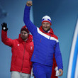 Beat Feuz Medal Ceremony - Winter Olympics Day 6