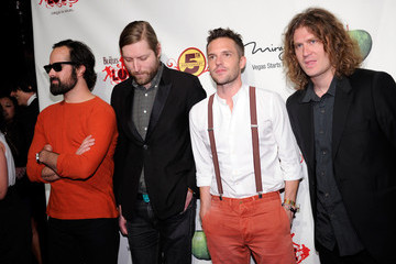 Brandon Flowers Mark Stoermer The Beatles LOVE By Cirque du Soleil Celebrates Its 5th Anniversary At The Mirage In Las Vegas