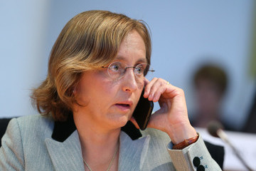 Beatrix von Storch Parliamentary Commission Holds Hearing On Bremen Asylum Approvals Scandal