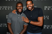 """Bachelorette's Diggy Moreland and Eric Bigger attend """"Beautifully Broken"""" World Premiere at The Factory on August 19, 2018 in Franklin Tennessee."""
