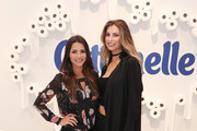 Andi Dorfman (L) and Katherine Webb attend day one of Beauty Bar Presented by Cottonelle on September 8, 2016 in New York City.