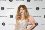 Renee Olstead attends the Beautycon Festival LA 2018 at the Los Angeles Convention Center on July 14, 2018 in Los Angeles, California.
