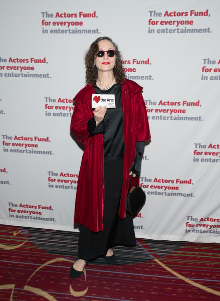 The Actors Fund 2018 Gala [clothing,red,carpet,fashion,red carpet,outerwear,fashion design,flooring,costume,footwear,marriott marquis times square,new york city,actors fund 2018 gala,the actors fund 2018 gala,bebe neuwirth]