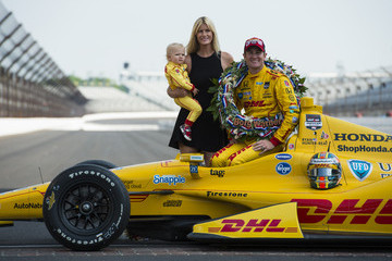 Beccy Hunter-Reay Indianapolis 500 Trophy Presentation