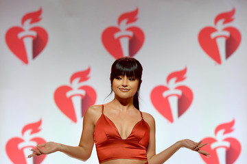 Becky G The American Heart Association's Go Red For Women Red Dress Collection 2019 Presented By Macy's - Runway