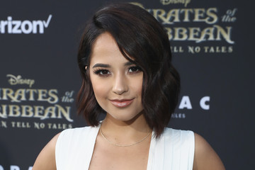 Becky G Premiere of Disney's andnd Jerry Bruckheimer Films' 'Pirates Of The Caribbean: Dead Men Tell No Tales'
