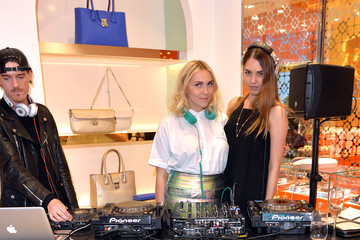 Becky Tong Folli Follie Celebrates The Launch of the New Flagship Store On Oxford Street With Mrs Ketty Koutsolioutsos