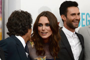 Adam Levine and Keira Knightley Photos Photo