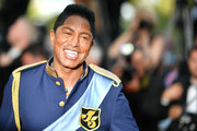US singer Jermaine Jackson arrives on May 24, 2017 for the screening of the film 'The Beguiled' at the 70th edition of the Cannes Film Festival in Cannes, southern France.  / AFP PHOTO / LOIC VENANCE