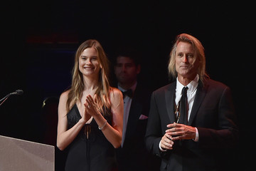 Behati Prinsloo Celebrities Attend the 2015 Fragrance Foundation Awards