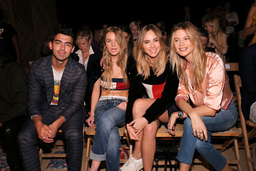 Behati Prinsloo Immy Waterhouse Tommy Hilfiger Women's - Front Row - Spring 2016 New York Fashion Week: The Shows