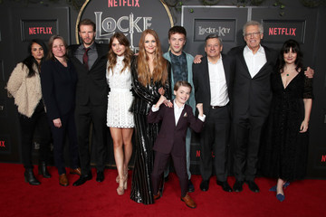 "Bela Bajaria Meredith Averill Netflix's ""Locke & Key"" Series Premiere Photo Call - Red Carpet"