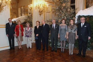 Princess Astrid Prince Philippe Belgian Royals Host Christmas Concert and Reception