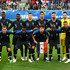 Samuel Umtiti Antoine Griezmann Photos - France players pose for a team photo during the 2018 FIFA World Cup Russia Semi Final match between Belgium and France at Saint Petersburg Stadium on July 10, 2018 in Saint Petersburg, Russia. - Belgium vs. France: Semi Final - 2018 FIFA World Cup Russia