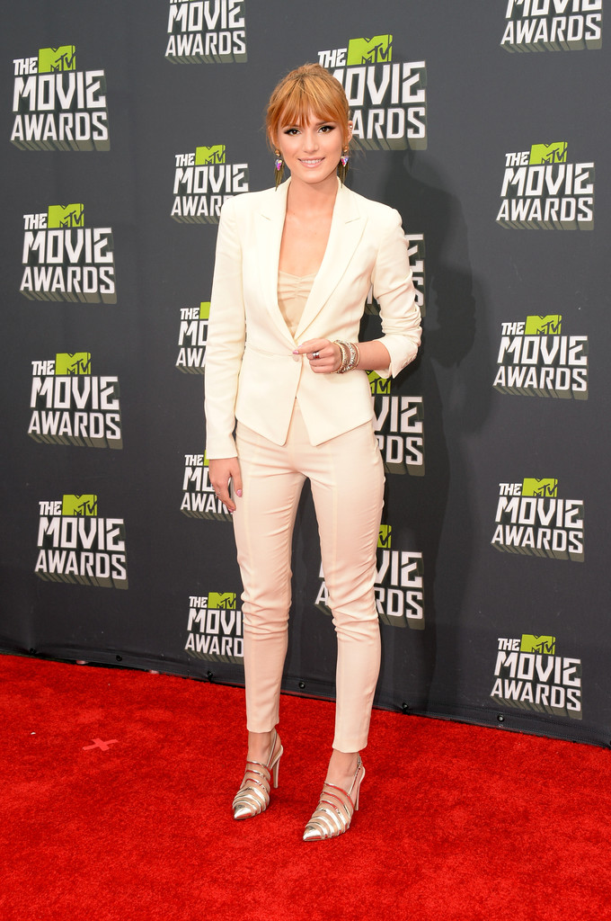 مـهـرجــــان 2013 Movie Awards Bella Thorne 2013 MTV Movie Awards Arrivals 94EWVbinc5qx.jpg