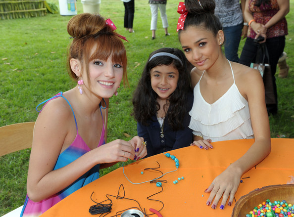 Bella Thorne Actress Bella Thorne (L), guest and actress Pia Mia attend the 22nd Annual Time for Heroes Celebrity Picnic sponsored by Disney to benefit the Elizabeth Glaser Pediatric AIDS Foundation at Wadsworth Theater on the Veteran Administration Lawn on June 12, 2011 in Los Angeles, California.