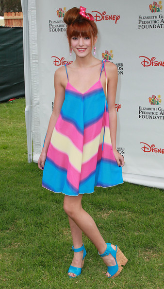 "Bella Thorne Actress Bella Thorne attends the Elizabeth Glaser Pediatric AIDS Foundation's ""A Time For Heroes Event"" at Wadsworth Theater on the Veterans Administration Lawn on June 12, 2011 in Los Angeles, California."