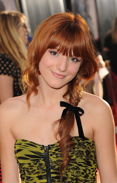 Bella Thorne Actress Attends The Real Steel Los Angeles