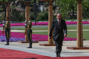 Turkish President Recep Tayyip Erdogan arrives for the welcome ceremony at Yanqi Lake during the Belt and Road Forum May 15, 2017 in Beijing, China. The forum, which runs through today, is expected to lay the groundwork for Beijing-led infrastructure initiatives aimed at connecting China with Europe, Africa and Asia.