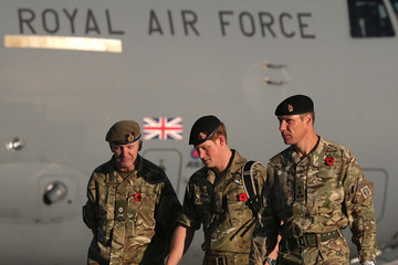 Ben Bathurst British Troops In Kandahar Participate In A Remembrance Sunday Service